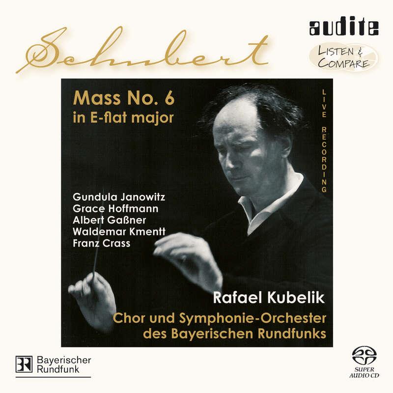 Cover: Franz Schubert: Mass No. 6 in E-flat major, D 950