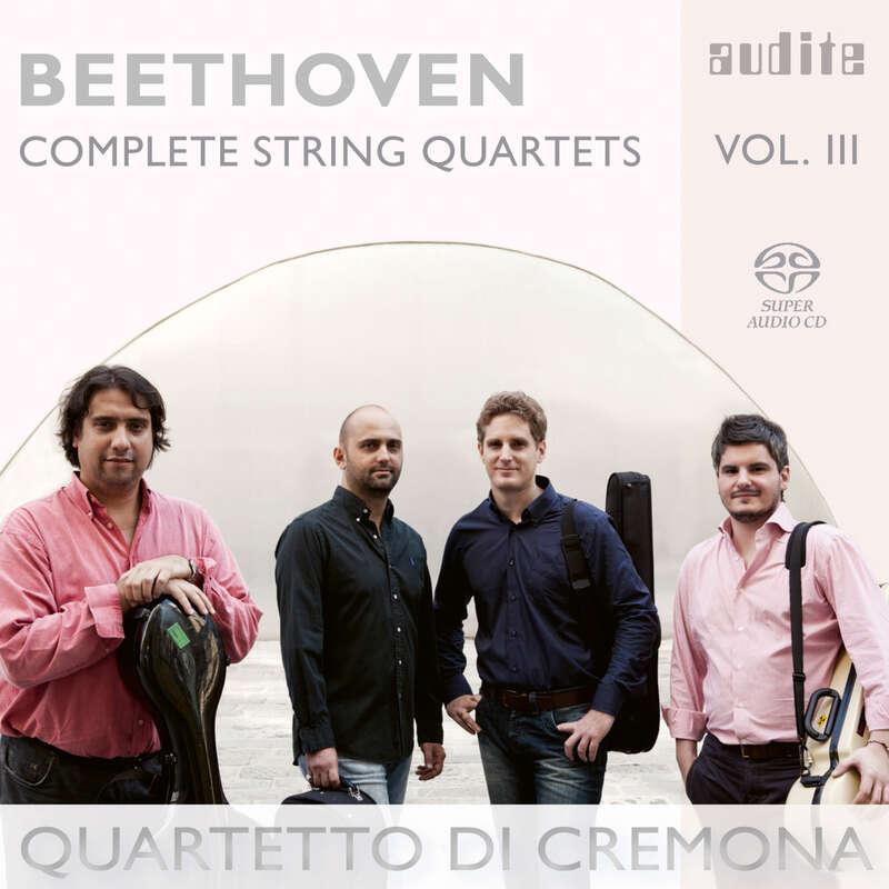 Cover: Ludwig van Beethoven: Complete String Quartets - Vol. 3