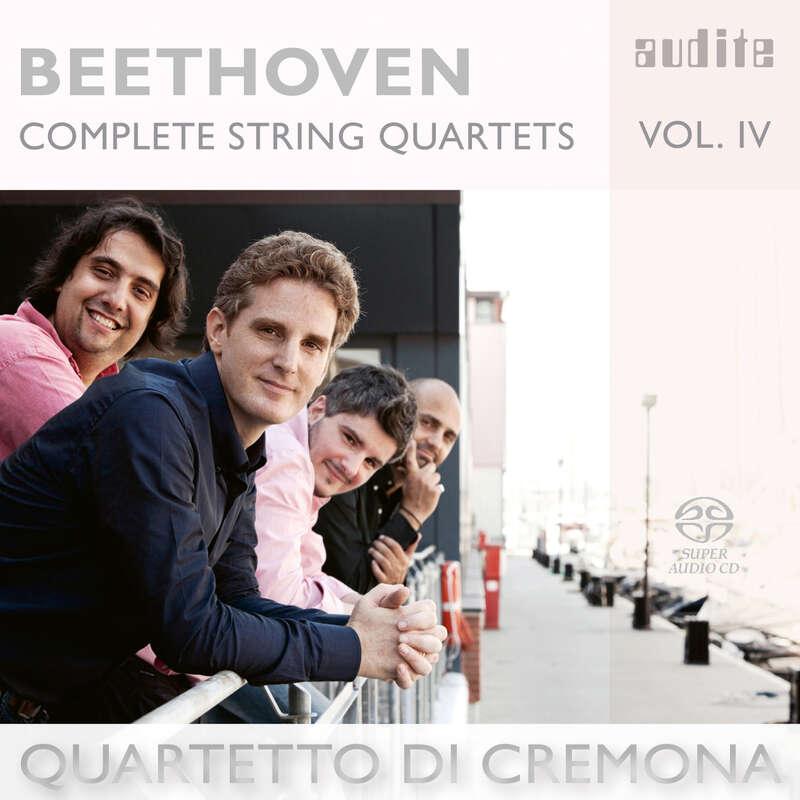 Cover: Ludwig van Beethoven: Complete String Quartets - Vol. 4