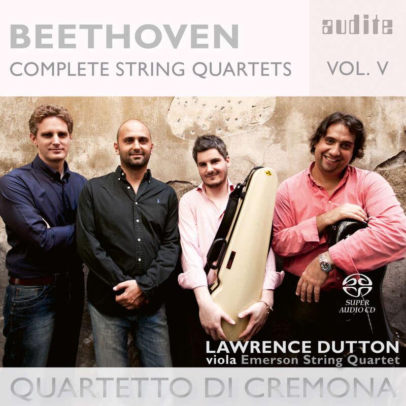 Cover: Ludwig van Beethoven: Complete String Quartets - Vol. 5