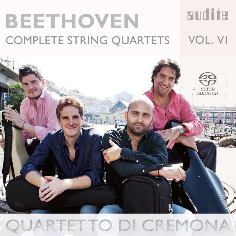 Cover: Ludwig van Beethoven: Complete String Quartets - Vol. 6