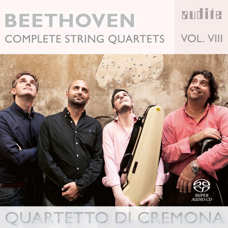 Cover: Ludwig van Beethoven: Complete String Quartets - Vol. 8