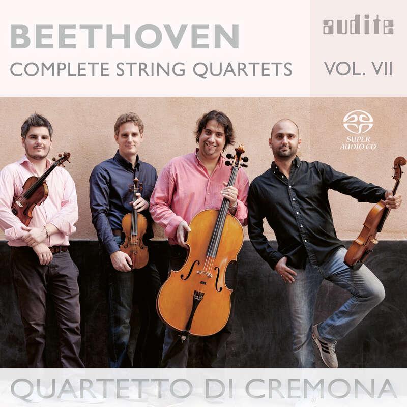 Cover: Ludwig van Beethoven: Complete String Quartets - Vol. 7