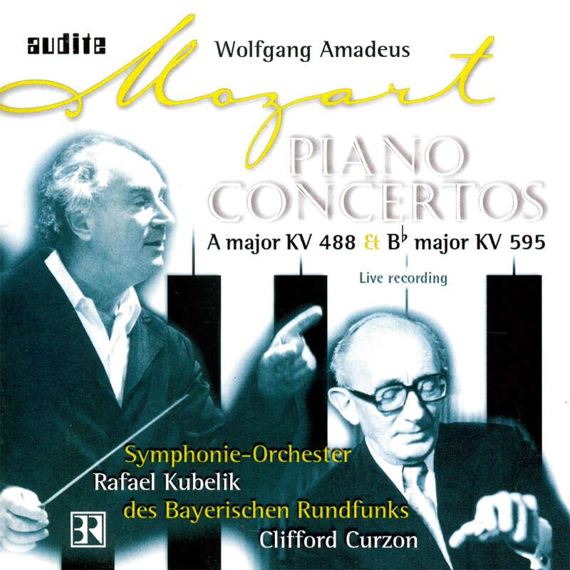 Cover: Wolfgang Amadeus Mozart: Piano Concertos No. 23 & No. 27