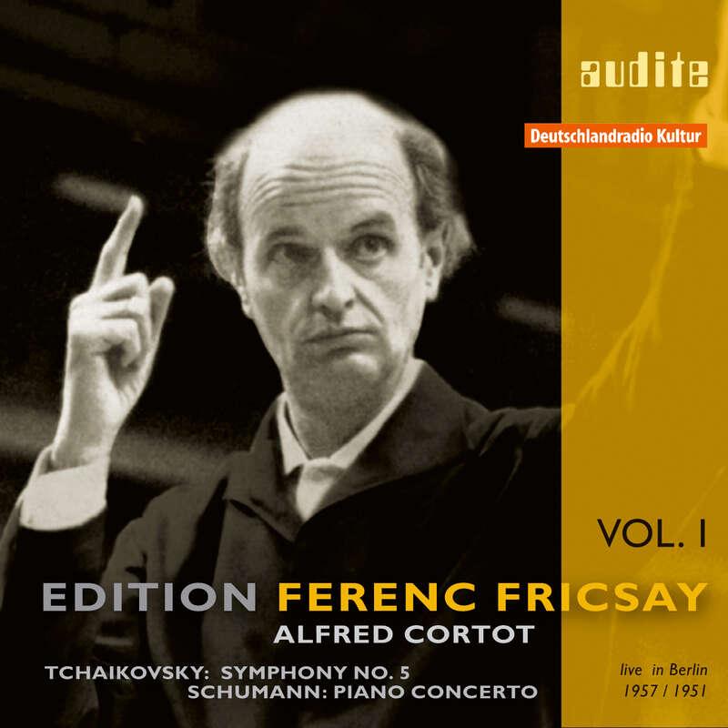 Cover: Pyotr Ilyich Tchaikovsky & Robert Schumann: Symphony No. 5 & Piano Concerto