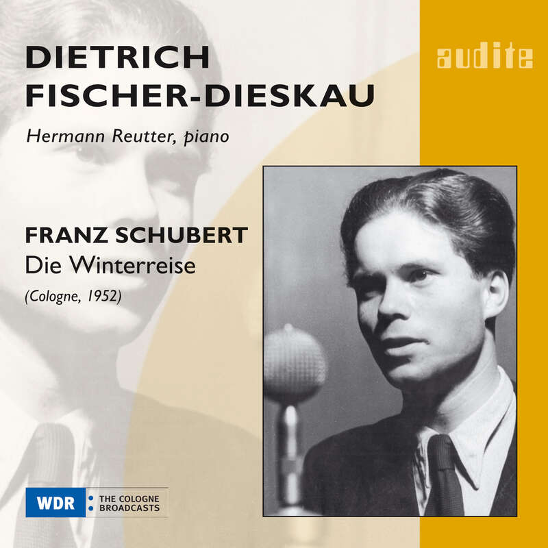 Cover: Franz Schubert: Die Winterreise (1952)