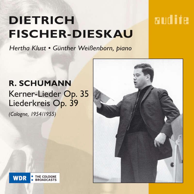 Cover: Robert Schumann: Kerner Lieder op. 35 & Liederkreis op. 39