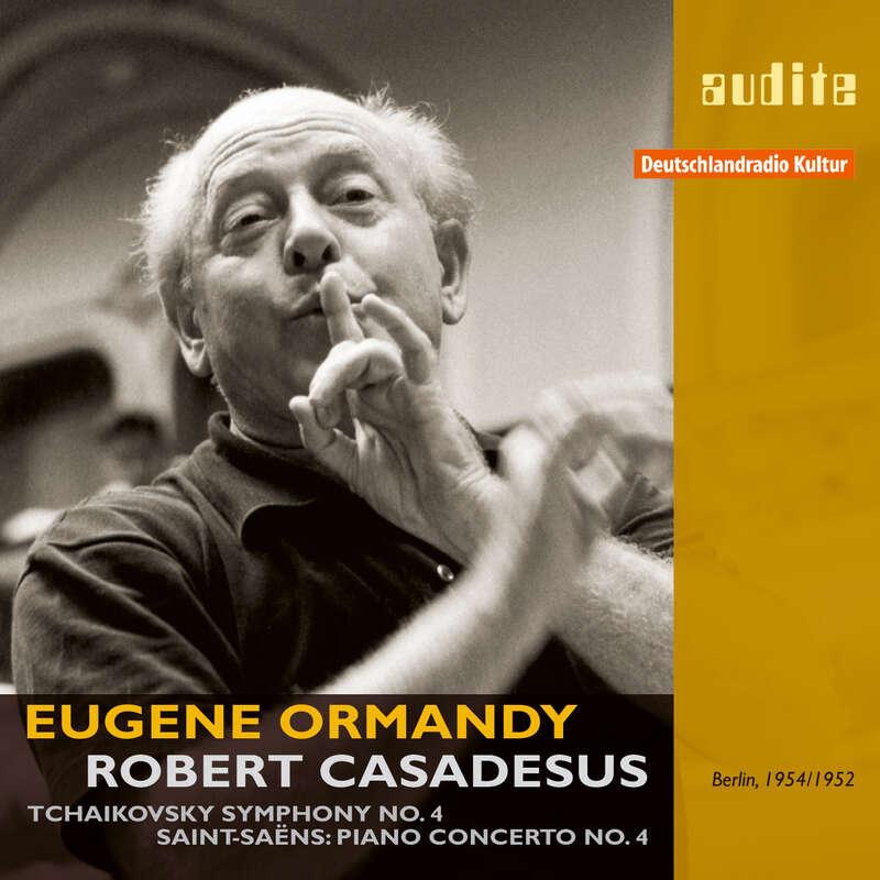 Cover: Pyotr IlyichTchaikovsky & Camille Saint-Saëns: Symphony No. 4 & Piano Concerto No. 4