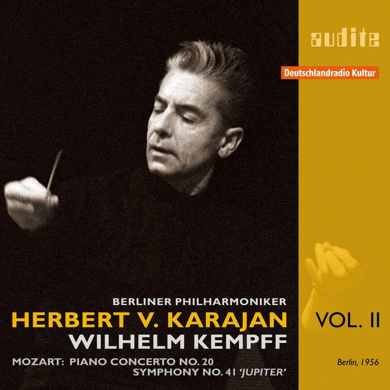 Cover: Edition von Karajan (II) – W. A. Mozart: Piano Concerto No. 20 & Symphony No. 41 'Jupiter Symphony'