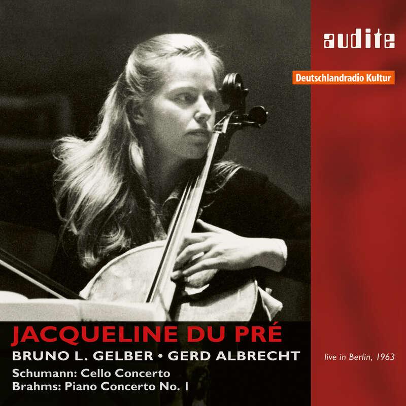 Cover: Robert Schumann & Johannes Brahms: Cello Concerto, Op. 129 & Piano Concerto, Op. 15