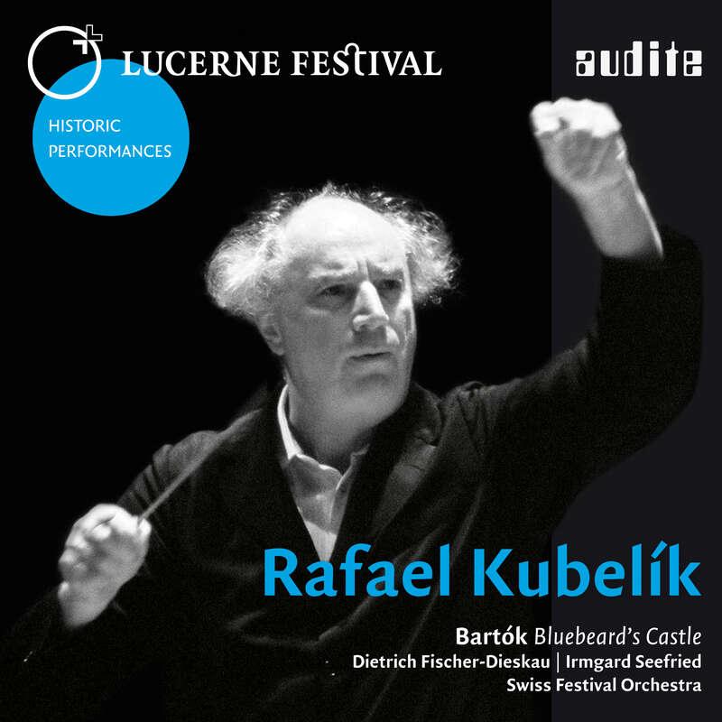 Cover: Rafael Kubelik conducts Bartók: Bluebeard's Castle