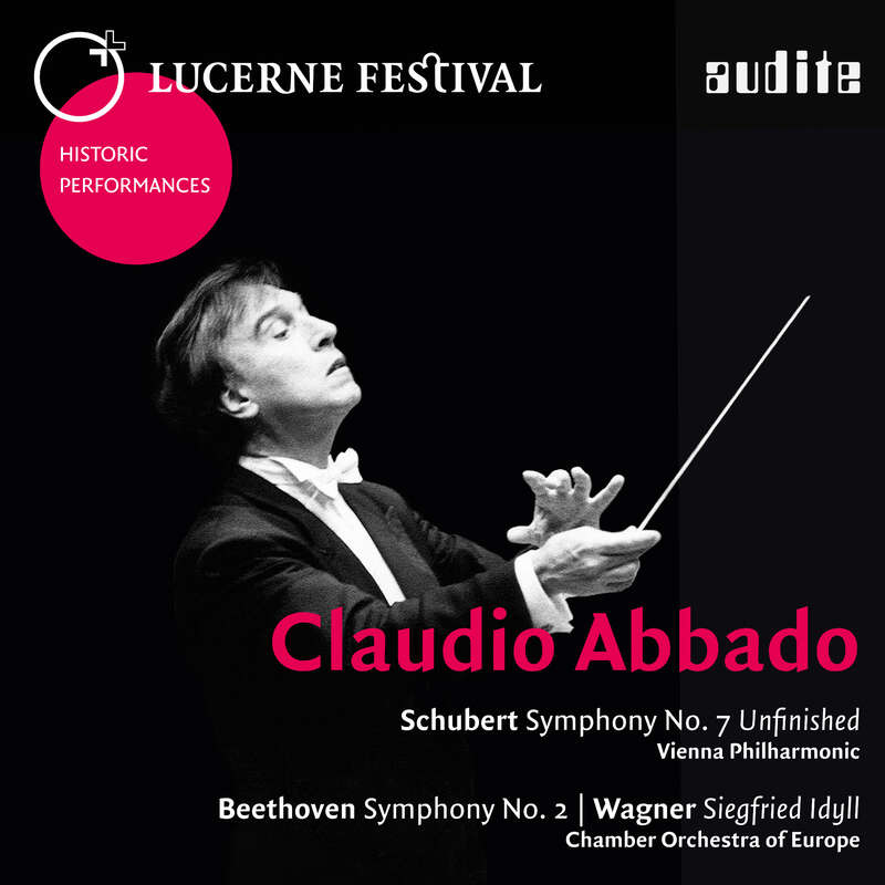 Cover: Claudio Abbado conducts Schubert, Beethoven & Wagner