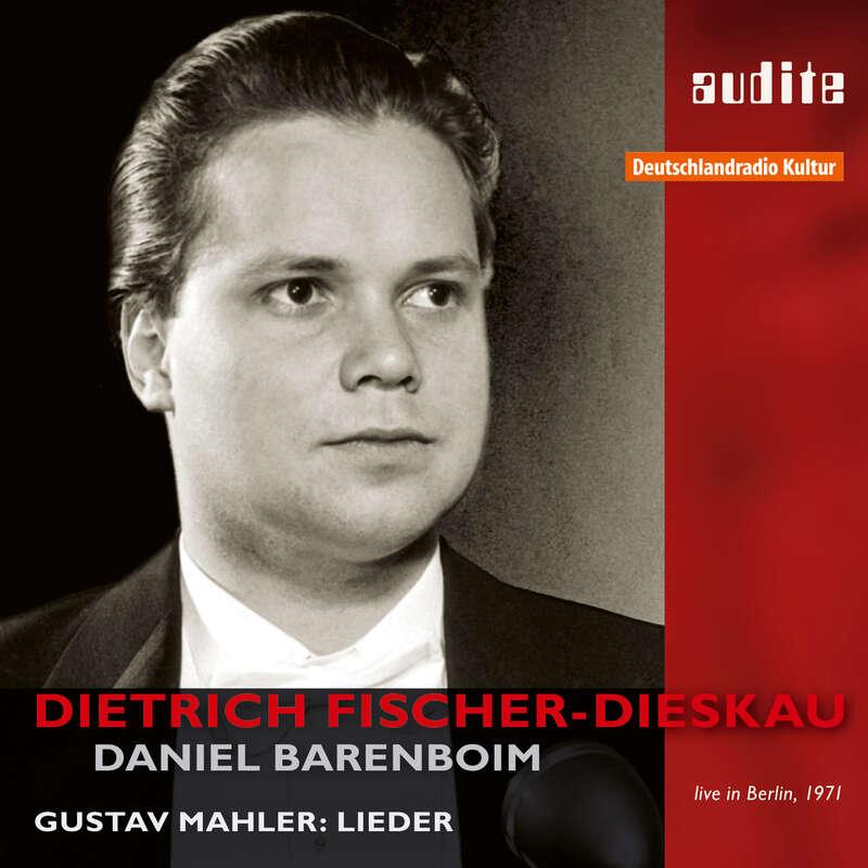 Cover: Dietrich Fischer-Dieskau sings Gustav Mahler | Daniel Barenboim, piano