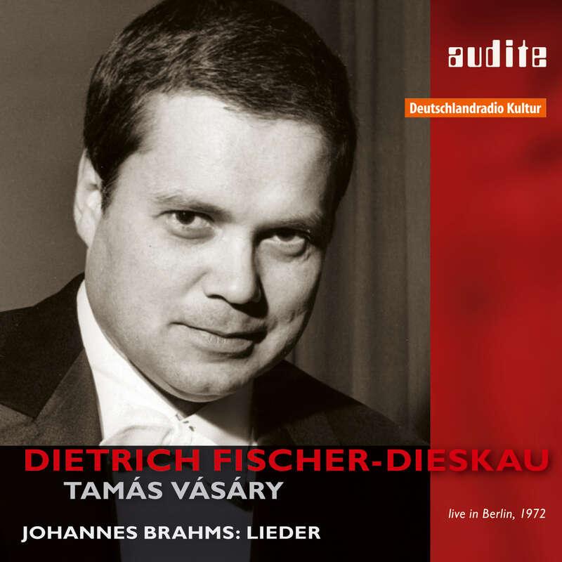 Cover: Dietrich Fischer-Dieskau sings Brahms | Tomás Vásáry, piano