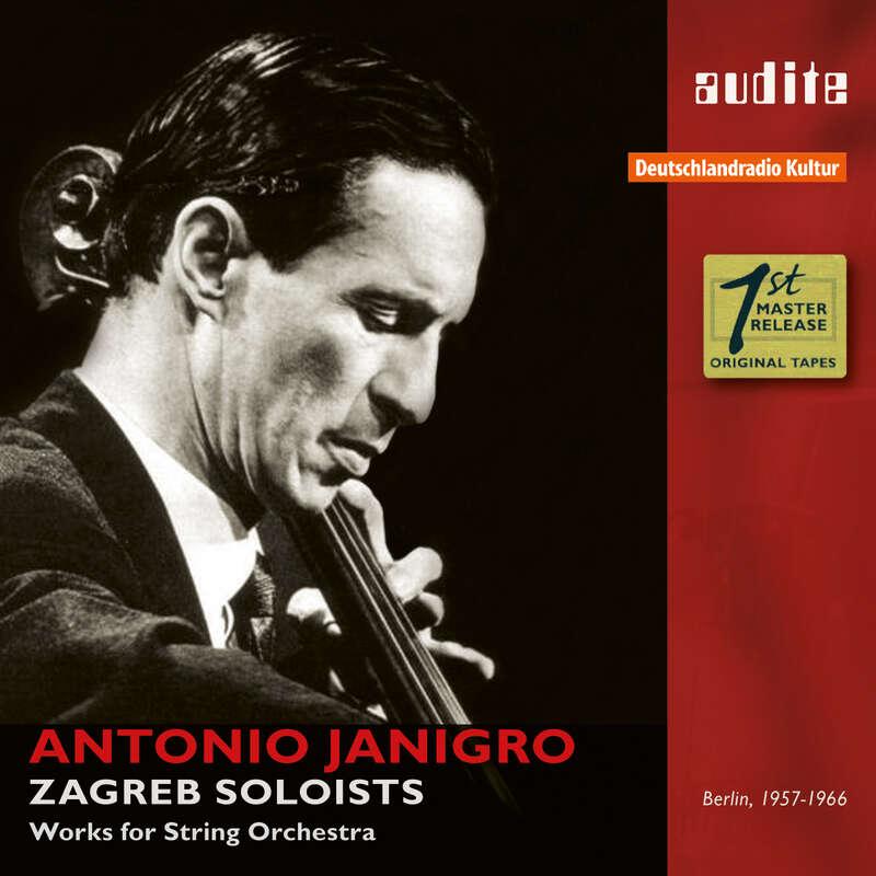 Cover: Antonio Janigro & The Zagreb Soloists