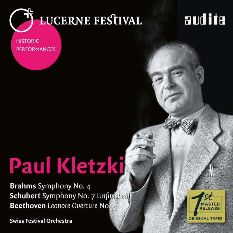 Cover: Paul Kletzki conducts Brahms, Schubert & Beethoven