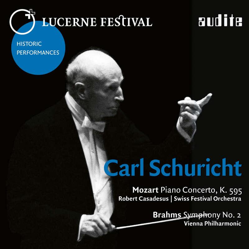 Cover: Carl Schuricht conducts Mozart & Brahms