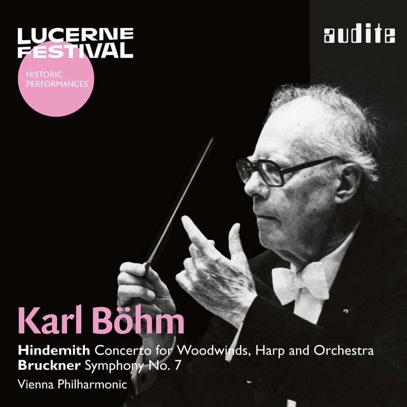 Cover: Karl Böhm conducts Hindemith & Bruckner
