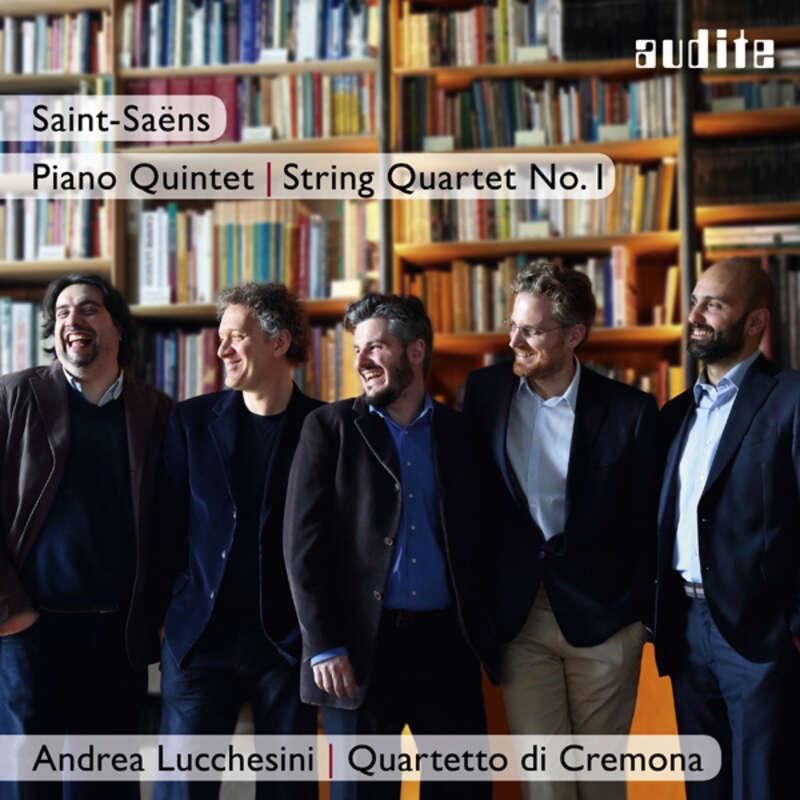 Cover: Camille Saint-Saëns: Piano Quintet & String Quartet No. 1
