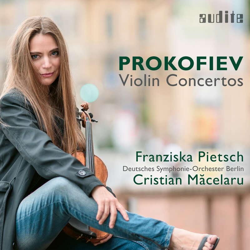 Cover: Sergei Prokofiev: Violin Concertos