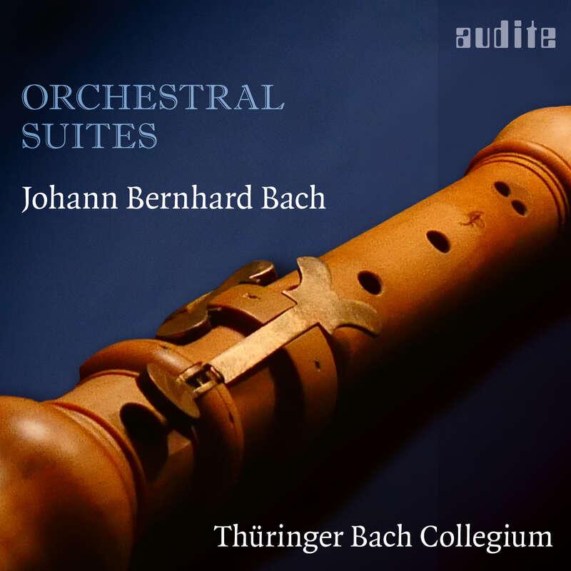 Cover: Johann Bernhard Bach: Orchestral Suites