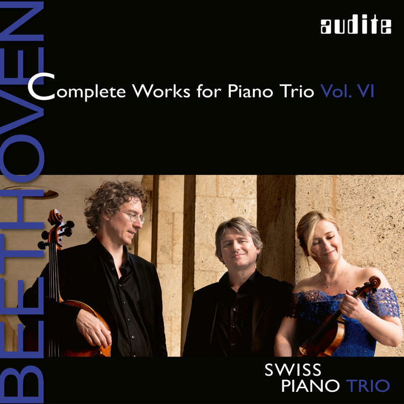 Cover: Ludwig van Beethoven: Complete Works for Piano Trio - Vol. 6